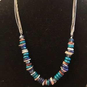 Kenneth Cole glass bead 18 inch necklace